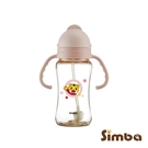 【贈奶嘴刷】Simba小獅王辛巴巧虎PPSU自動把手滑蓋杯 (270ml)(4718003011133粉) 510元