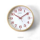 SEIKO日系清晰紅數字時鐘 柒彩年代【NG24】原廠公司貨