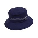 New Balance 帽子 NB Bucket Hat 藍 白 男女款 漁夫帽 基本款 運動休閒【ACS】 LAH13003TNV