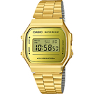 CASIO 卡西歐 經典人氣方型金錶-36mm A168WEGM-9 / A-168WEGM-9DF