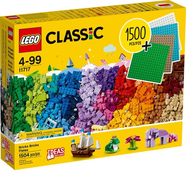 【愛吾兒】LEGO 樂高 Classic經典系列 11717 樂高積木底板創意盒