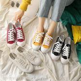 小白鞋 新款夏季學生帆布鞋女ins超火韓版百搭原宿風ulzzang小白板鞋 維科特3C