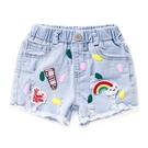 女童牛仔短褲 夏季薄款2019新款韓版童裝3兒童夏裝熱褲女寶寶褲子