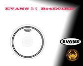 """【小麥老師樂器館】EVANS 鼓皮 B14EC1RD 14"""" EC1 REV DOT"""