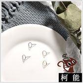 耳環【7959】極簡耳釘細紋小圓圈耳環
