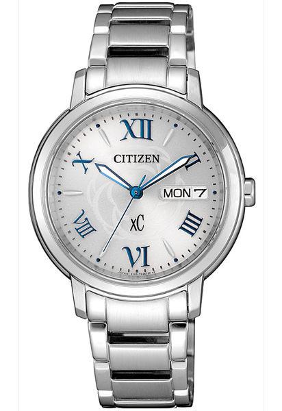 【分期0利率】星辰錶 CITIZEN XC 電波錶 Hebe代言 32mm 光動能 全新原廠公司貨 EW2420-51A