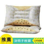 一對裝 決明子枕頭枕芯蕎麥殼學生宿舍單人枕頭芯成人護頸枕