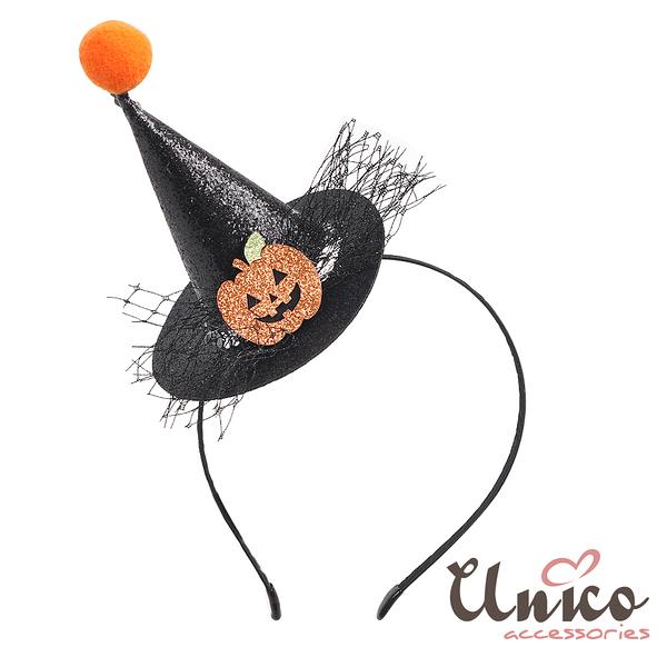 UNICO 新款萬聖節變裝派對髮箍-南瓜造型