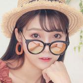 墨鏡 新款潮流方框韓版炫彩抗UV太陽眼鏡(九色)【CE5130】