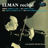 【停看聽音響唱片】【黑膠LP】小提琴音樂會 / 米夏.艾爾曼(小提琴)、約瑟夫.席格(鋼琴) (180g LP)