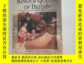 二手書博民逛書店The罕見Book of the Kings and Queens of BritainY1613