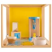 【德國 Hape&educo 愛傑卡】現代浴室組 角色扮演 娃娃屋 居家系列
