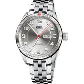 ORIS 豪利時 Artix GT Day Date 機械手錶-銀/42mm 0173576624461-0782185