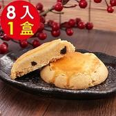 【南紡購物中心】預購 美雅宜蘭餅 手作葡萄奶酥8入x1盒