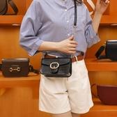 涵語女包包新款2020單肩斜背女包女法國鱷魚紋小眾鏈條包包洋氣包