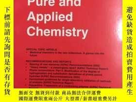 二手書博民逛書店Pure罕見and Applied Chemistry 74.5