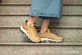 【現貨折卷後4880】NIKE Wmns Air Max 97 OG 金色 反光 子彈列車 復古 慢跑鞋 女鞋 885691-700