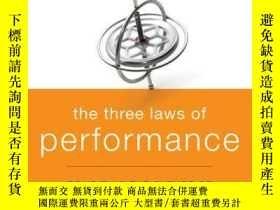 二手書博民逛書店The罕見Three Laws of Performance: Rewriting the Future of Y