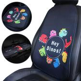 2入-汽車座墊夏季透氣涼墊卡通靠背墊-JoyBaby