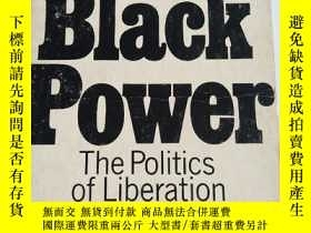 二手書博民逛書店英文原版:black罕見power- the politics of liberation in america