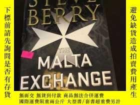 二手書博民逛書店The罕見malta exchangeY302880 Steve berry Minotaur books I