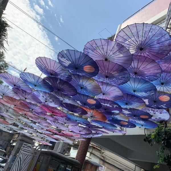 中國風油紙傘舞蹈傘吊頂傘