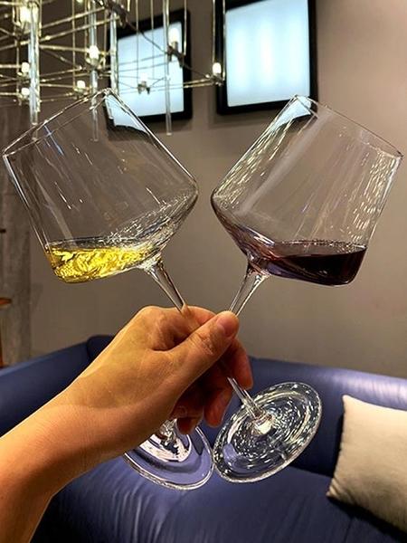 酒杯 紅酒杯套裝家用水晶香檳杯歐式高腳杯醒酒器定制廣告葡萄酒杯【快速出貨八折下殺】