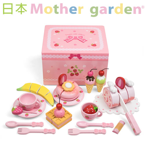 免運費「日本Mother Garden 」野草莓蛋糕歡聚禮盒╭★ JOYBUS玩具百貨