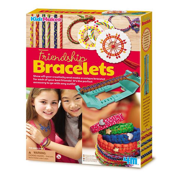 售完絕版【4M】04728 美勞創意-編織友誼手環 Friendship Bracelets