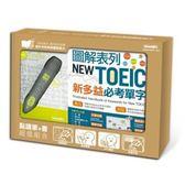 LiveABC超值組合:點讀筆+圖解表列NEW TOEIC新多益必考單字