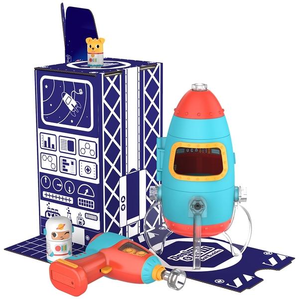 【 美國 Educational Insights 】 兒童益智桌遊 Design & Drill 太空火箭 / JOYBUS玩具百貨