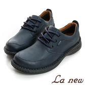 【La new】GORE-TEX氣墊休閒鞋(男221018271)