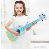 寶麗尤克里里初學者寶寶兒童迷你小吉他玩具可彈奏樂器3歲男女孩 洛小仙女鞋