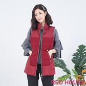 RED HOUSE-蕾赫斯-羊毛羽絨背心(共2色)