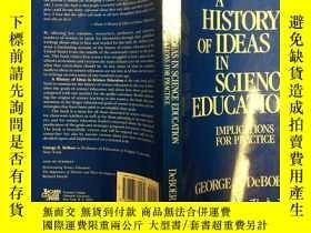 二手書博民逛書店A罕見History of Ideas in Science E