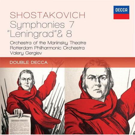 """蕭士塔高維契:第7號交響曲 列寧格勒 & 第8號交響曲 CD Shostakovich: Symphonies No.7 """"Leningrad"""" & 8"""