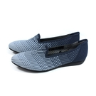 inooknit 懶人鞋 樂福鞋 尖頭 藍色漸層 編織 女鞋 IK-BJ1FW0408-555 no033
