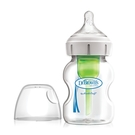 Dr. Brown's布朗博士 - options + 防脹氣寬口玻璃奶瓶 150ml 一入