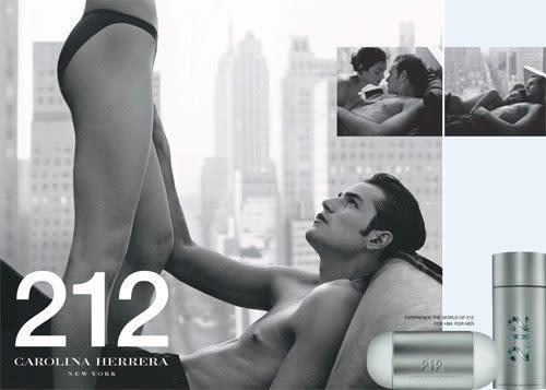 Carolina Herrera 212 MEN 男性淡香水 100ml◐香水綁馬尾◐