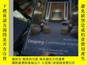 二手書博民逛書店designing罕見commercial interiorsY