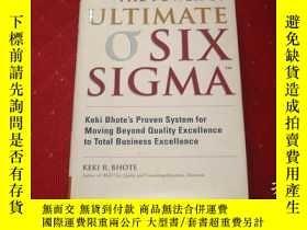 二手書博民逛書店The罕見Power of Ultimate Six Sigma
