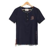 短袖T恤 亞麻-中國風休閒百搭舒適男上衣4色73ms41【巴黎精品】