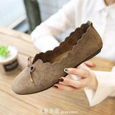 衛妃休閒女鞋ins駕車鞋款懶人瓢鞋單鞋子豆豆鞋 「米蘭街頭」