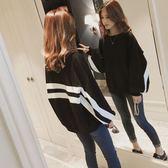 長袖T恤 2018秋裝新款長袖T恤女裝上衣學生小衫韓版秋衣服寬鬆百搭打底衫