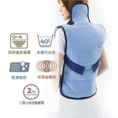 Sunlus LED全背式熱敷舒毛墊(熱敷墊/肩膀/背部/腰部/溫熱紓壓/保暖禦寒/溫感熱療/三樂事/台灣製)