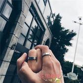 日韓潮牌高橋民族風手工鑲嵌金珠太陽圖騰戒指情侶男女尾環【購物節限時優惠】
