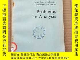 二手書博民逛書店problems罕見in analysis(P337)Y173412