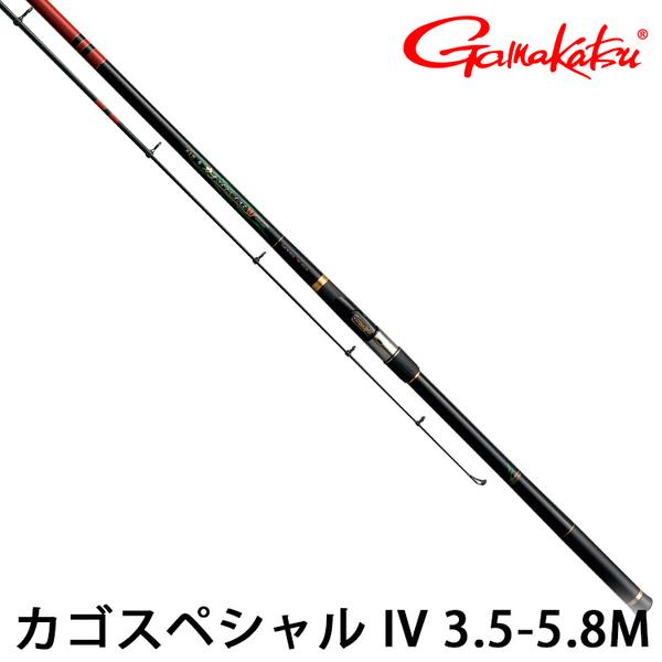 漁拓釣具 GAMAKATSU 磯 カゴ SPECIAL IV 3.5-5.8m [磯釣竿]
