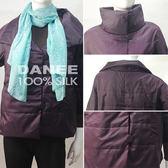 【岱妮蠶絲】HK3328C七分袖極輕蠶絲短襖