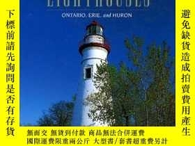 二手書博民逛書店Eastern罕見Great Lakes Lighthouses: Ontario, Erie, and Huro